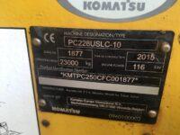 Komatsu PC228USLC 10 Zero Tail Swing For Sale 1877 10