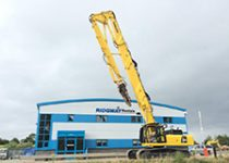 28m High Reach Demolition Excavator