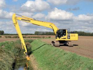 15m Long Reach Excavator