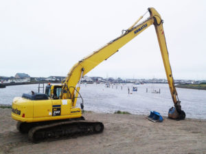 18m Long Reach Excavator b