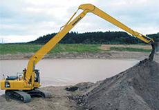 18m Long Reach Excavator
