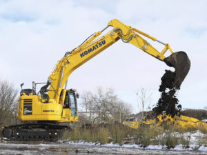 Komatsu PC228LC Excavator