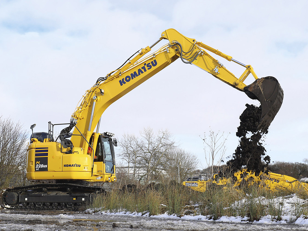 Komatsu PC228 Excavator Hire