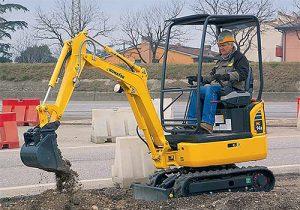 1.5 Ton mini digger hire