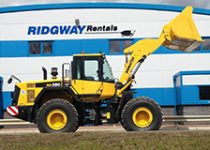 18 ton wheeled loading shovel