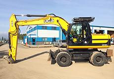 18 Ton Wheeled Excavator Hire