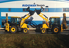 JCB 3CX Backhoe Loader Hire