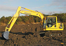 Komatsu PC130 Excavator Hire