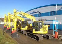 13 Ton Excavator Hire - Komatsu PC138 Excavator