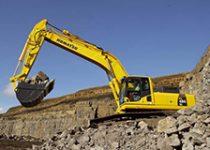 45 ton excavator hire