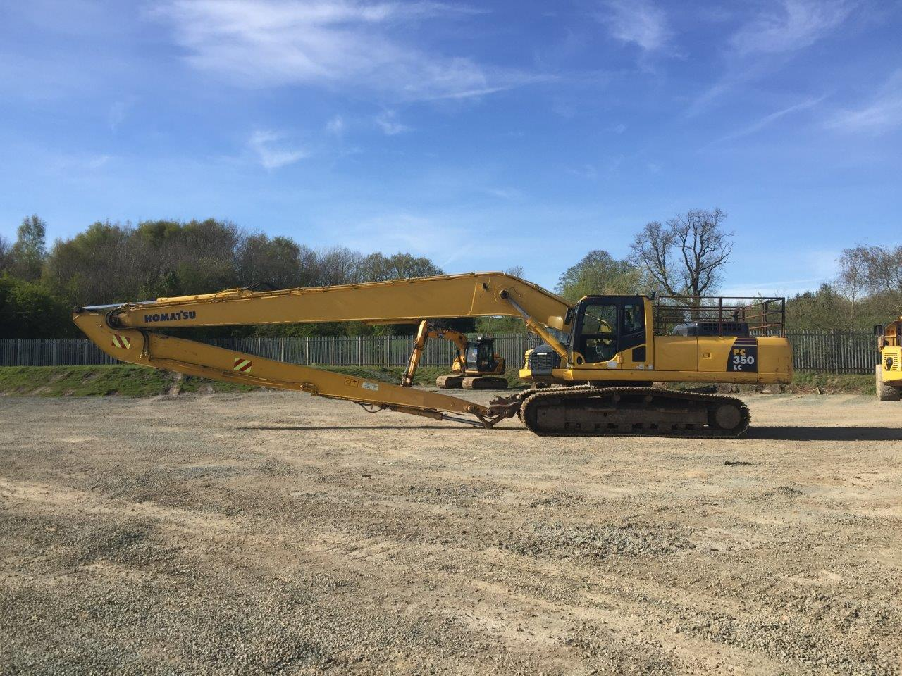 Long Reach Excavators For Sale From Ridgway Rentals Used