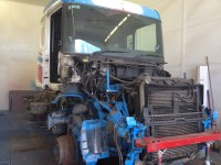 Scania T cab re-paint