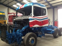 Scania T Cab going back together