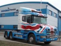 Union Jack Scania T cab