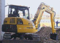 8 Ton Midi Excavator Hire