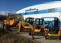 plant hire shropshire mini digger dumper roller
