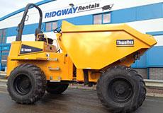 10 ton dumper hire