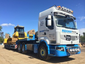 Ridgway Rentals Renault truck gets a new make over ready for Oswestry truck show