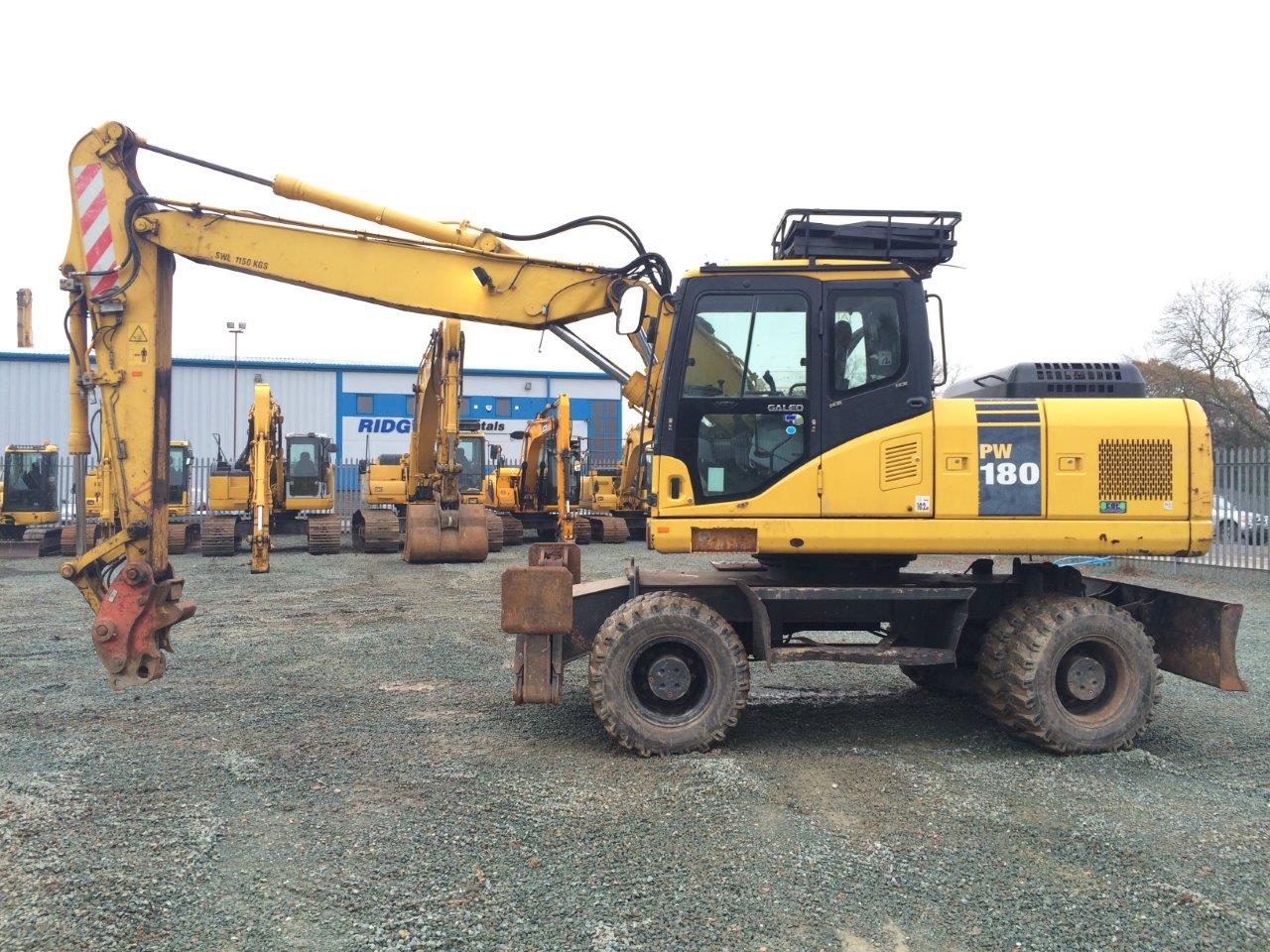 Wheeled Excavators Rubber Ducks For Sale From Ridgway