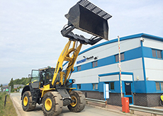 Waste Specification wheeled loading shovel
