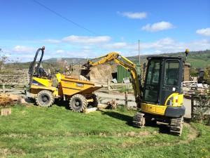 Ridgway Rentals Mini digger & dumper hire