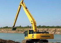 22 metre long reach excavator