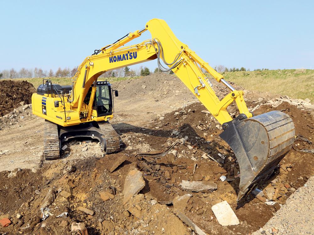 Komatsu PC290 30 Ton Excavator