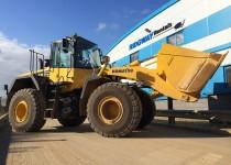 New Komatsu WA430 loading shovel 4 meter bucket