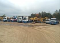 Ridgway Rentals haulage fleet