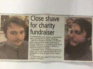 charity beard shave