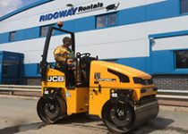 bomag hire roller hire