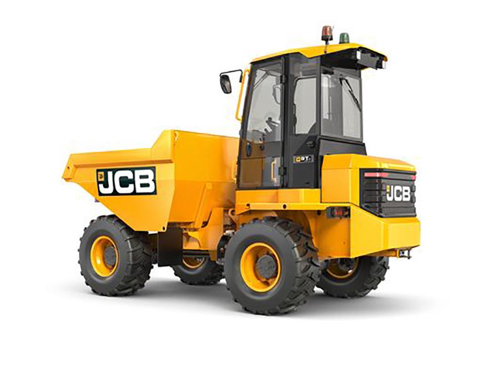 JCB 6T 1 cabbed dumper a