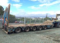 Faymonville 5 Axle Extender Step Frame Trailer For Sale
