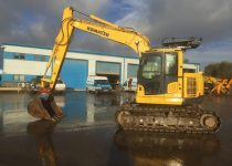 Komatsu PC138 Zero Tail Swing Excavator For Sale