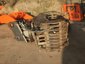 used selector grapple