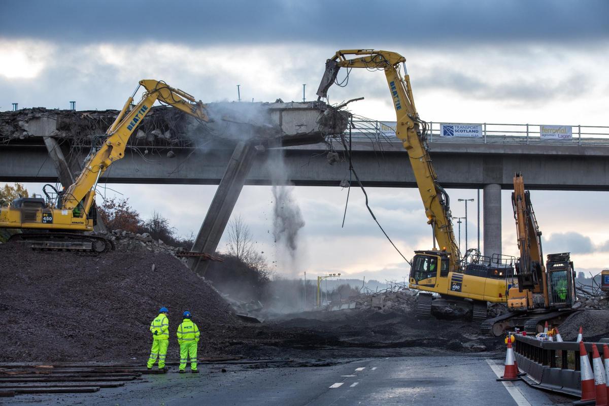 High Reach Demolition in action