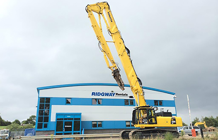 High Reach Demolition Excavators For Sale