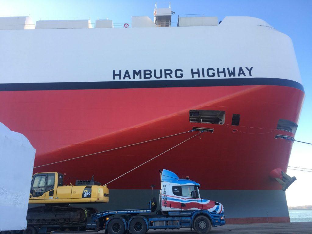 Ridgway Rentals exports used machinery Worldwide