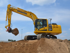 210 Intelligent Excavator Hire