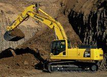35 Ton Excavator rental - Komatsu PC350 Excavator