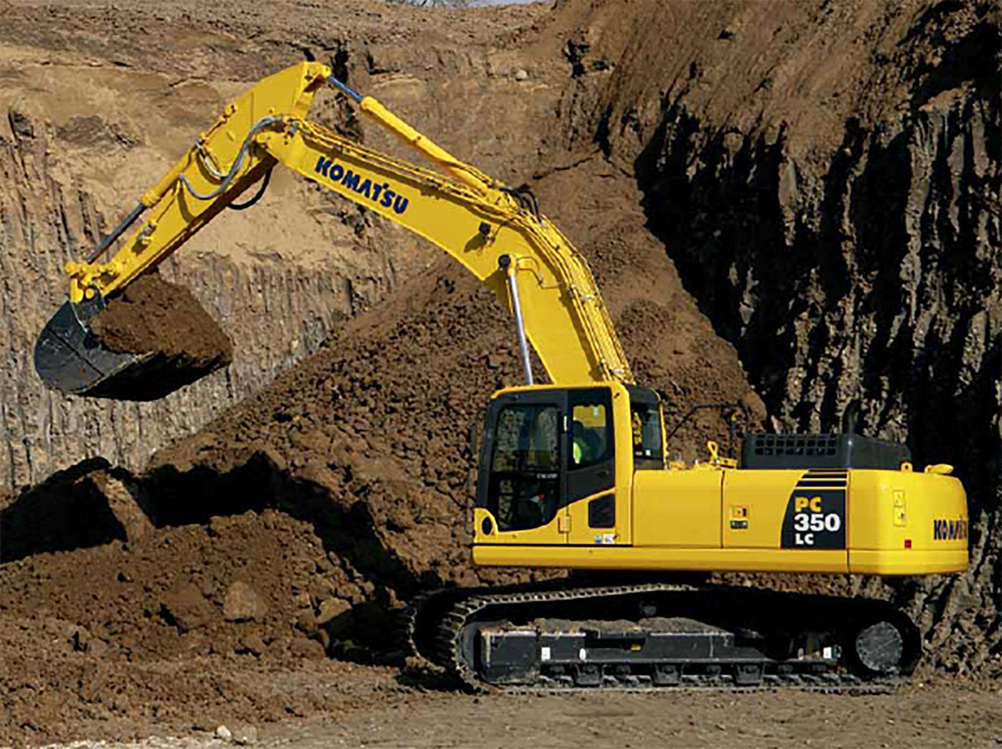 Komatsu PC350 Excavator | Ridgway Rentals Nationwide Plant Hire