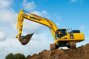 50 Ton Excavator Hire