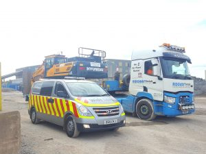 Wide Load with Escort Driver Hire