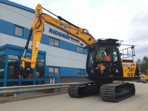 JCB JS131 Excavator