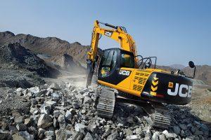20 Ton JCB Hire - JCB JS220 Excavator