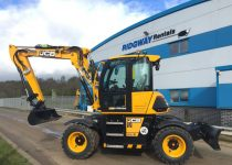 Wheeled Excavator Contract Hire