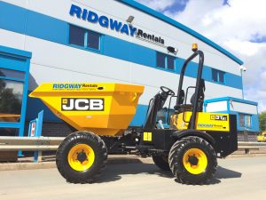 3 Ton Dumper Hire Swivel Tip