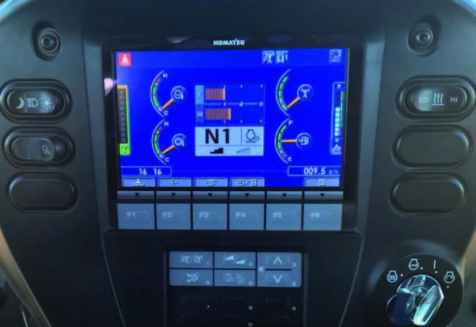 Komatsu D61pxi 24 Hire Gps Controlled Intelligent Dozer Hire