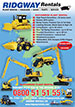 Ridgway Rentals Nationwide Plant Hire Brochure