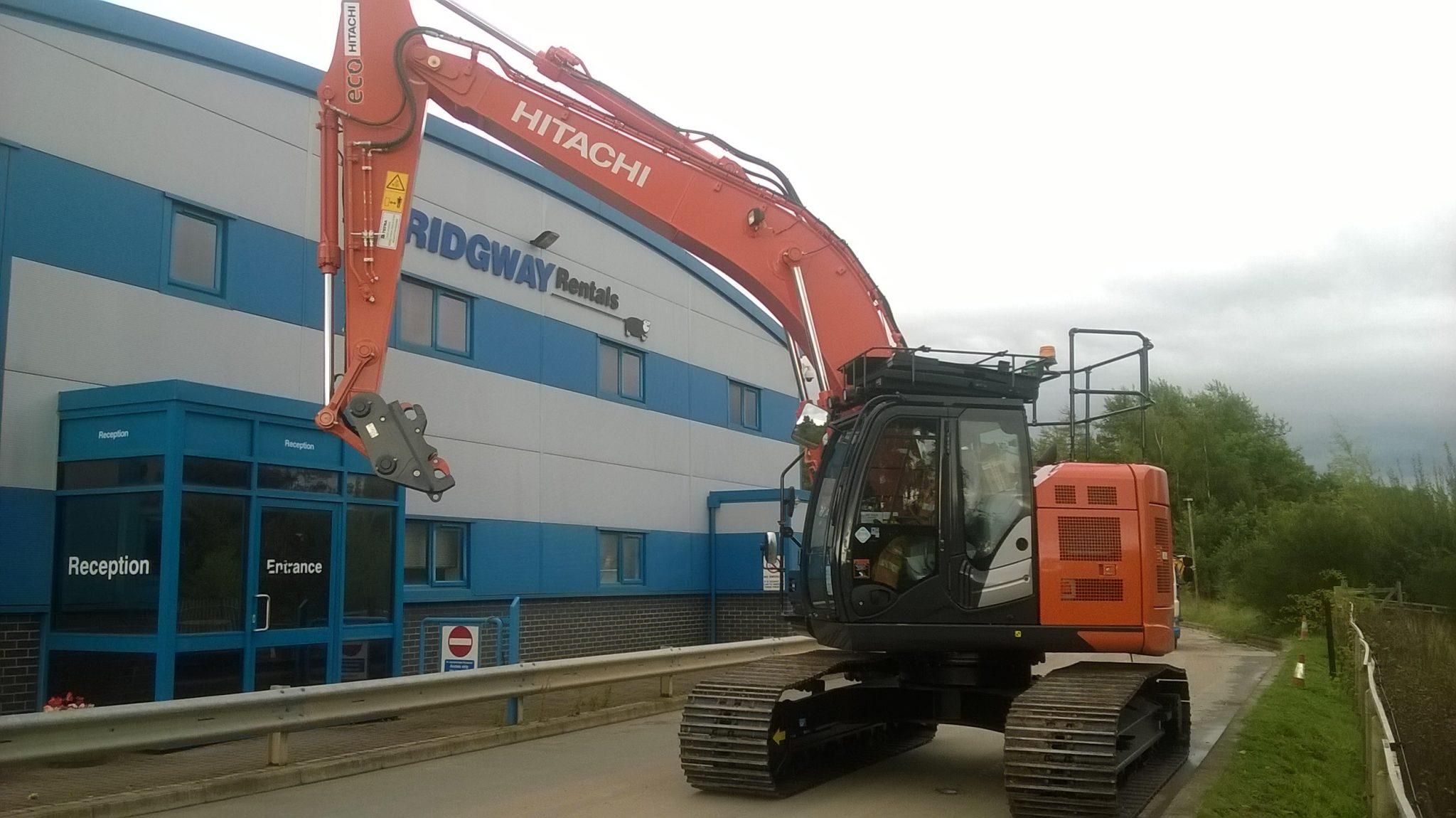 New Hitachi ZX 225 USLC ‑6 Zero Tail Swing Excavators added to Fleet